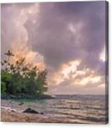 Napali Sunset Canvas Print