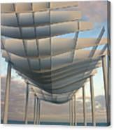 Napier Pier 2016 Canvas Print