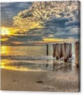 Naples Florida Sunset Canvas Print