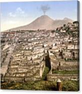 Naples: Mt. Vesuvius Canvas Print
