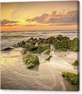 Naples Sunset Canvas Print