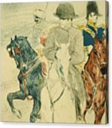 Napoleon Bonapart Canvas Print