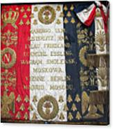 Napoleonic Flag Canvas Print