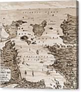 Narragansett Bay, C1880 Canvas Print