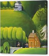 Narrow Foothills Canvas Print
