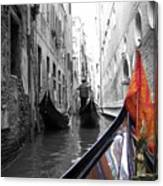 Narrow Journey Canvas Print