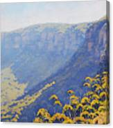 Narrow Neck Katoomba Canvas Print