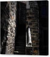 Narrow Staircase Canvas Print