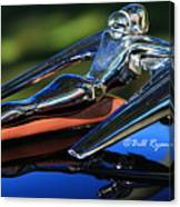 Nash Ambassador Hood Ornament  Canvas Print