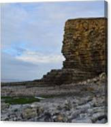 Nash Point In Wales Canvas Print