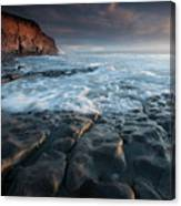 Nash Point South Wales Canvas Print