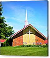 Nashville Baptist Church Canvas Print