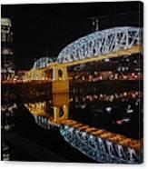 Nashville Bridge Canvas Print