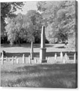 Nashville City Cemetery - 2 Canvas Print