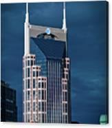 Nashville Landmarks Canvas Print