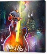 Nashville Nights 01 Canvas Print