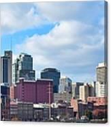 Nashville Panorama View Canvas Print