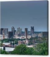 Nashville Skyline 2 Canvas Print