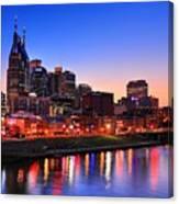 Nashville Southern Nights Canvas Print