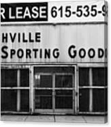 Nashville Sporting Goods Canvas Print