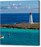 Nassau Harbor Lighthouse Canvas Print