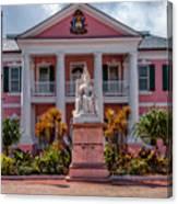 Nassau Senate Building Canvas Print