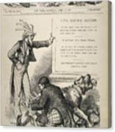 Nast: Civil Service Reform Canvas Print