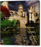 Natalie's Castle Canvas Print