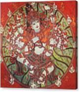 Nataraja Mural Canvas Print