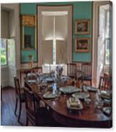 Nathaniel Russell Dining Room Canvas Print