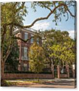 Nathaniel Russell House Canvas Print