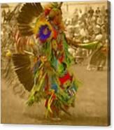 National Championship Pow Wow - Grand Prairie, Tx Canvas Print