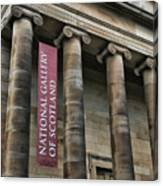 National Gallery Of Scotland  Canvas Print