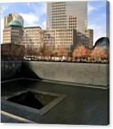 National September 11 Memorial New York City Canvas Print