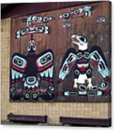 Native Alaskan Mural Canvas Print