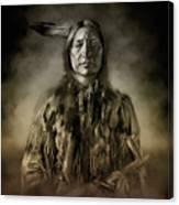 Native American Chief-scabby Bull 2 Canvas Print