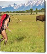 Native American Darcy 3 Canvas Print
