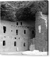 Native American Dwellings Canvas Print