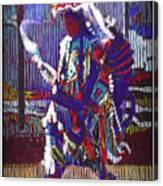 Native American - Male Fancy Dancer #4 Canvas Print