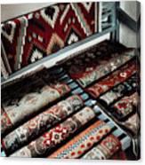 Native American Rugs Canvas Print