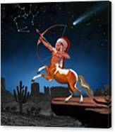 Native American Sagittarius Canvas Print