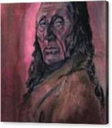 Native American Study Canvas Print
