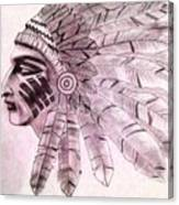 Native  Canvas Print