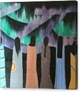 Native Northern Lights Moments Canvas Print