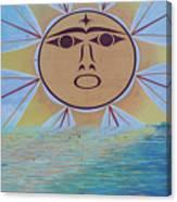 Native Sun Canvas Print