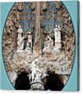 Nativity Barcelona Canvas Print