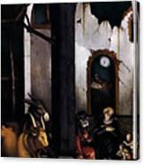 Nativity By Hans Baldung Grien Canvas Print