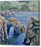 Natural Arch - Carmel Canvas Print