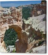 Natural Arch Bryce Canyon - Utah Canvas Print