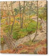 Natural Beauty Of Grindleford Canvas Print